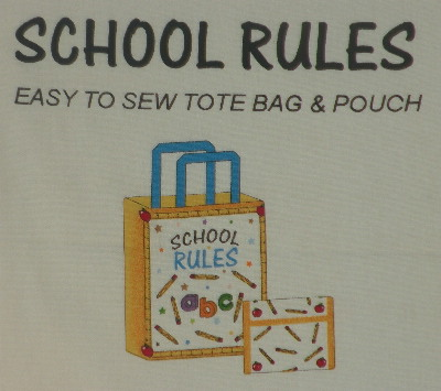 School Rules Tote