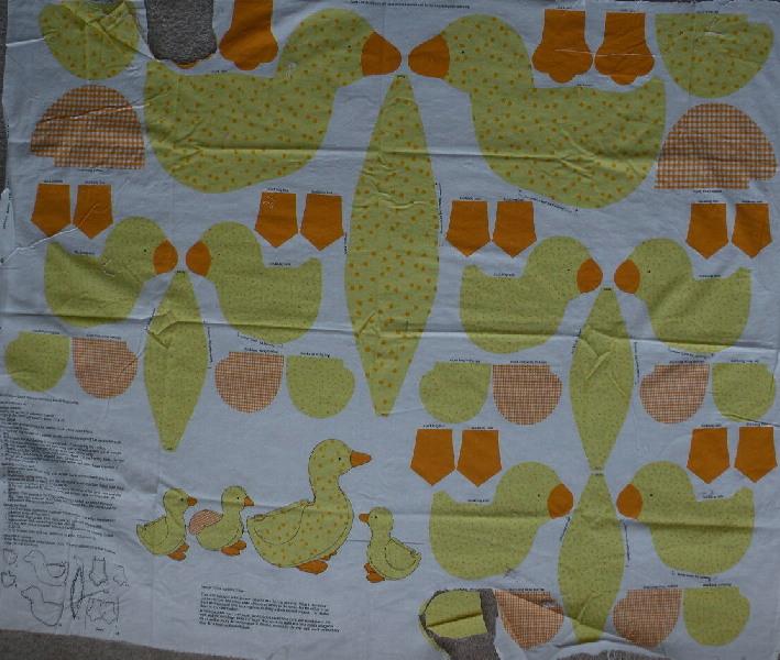 animal fabric panel