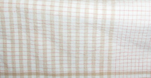 brown plaid checks stripes fabric
