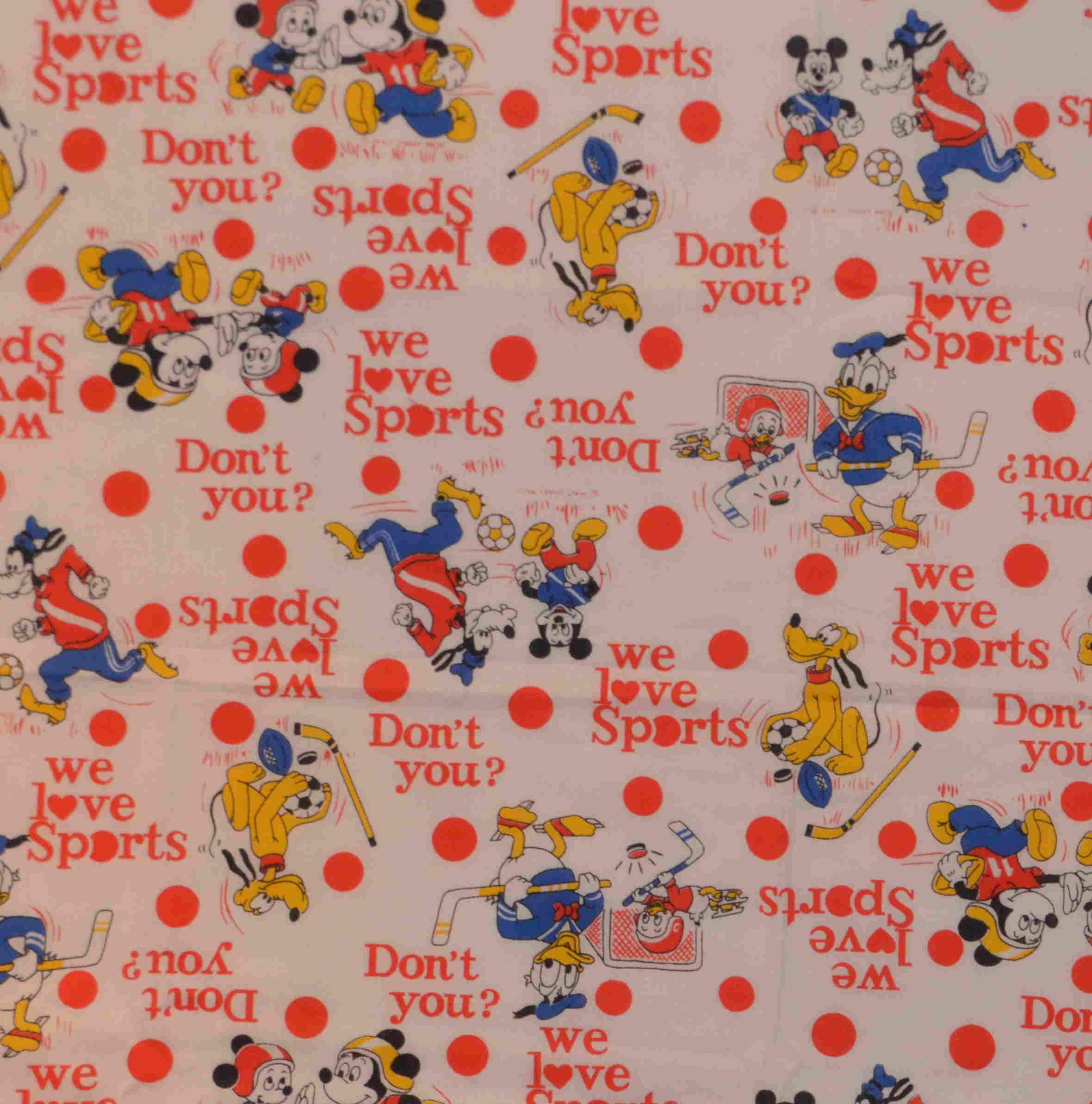 Goofy fabric
