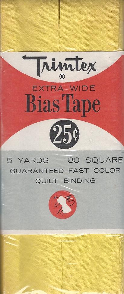 cotton bias tape