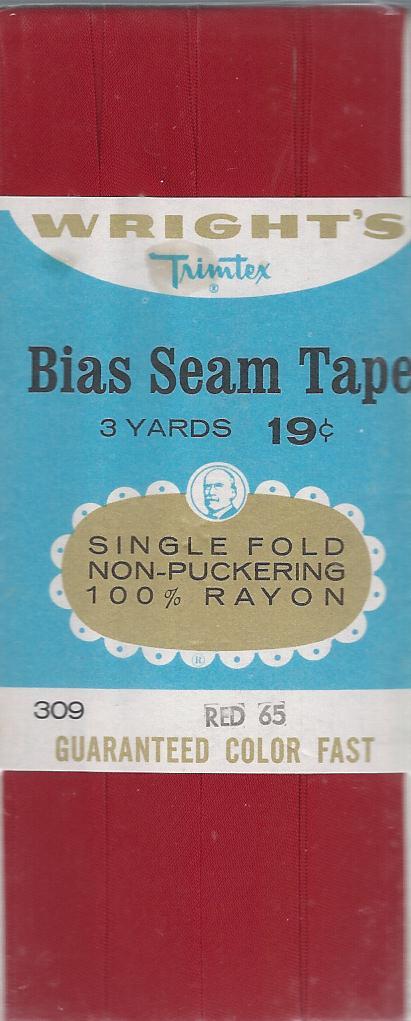 rayon bias tape