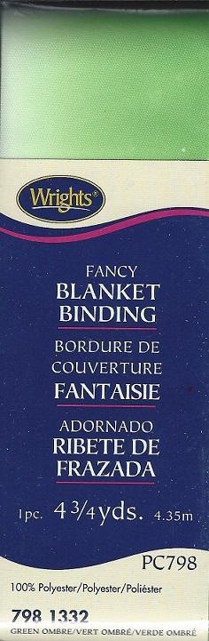 polyester blanket binding