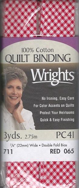 cotton Quilt binding