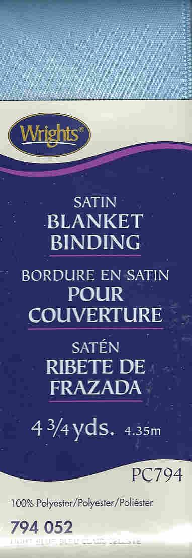 satin polyester blanket binding