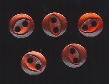 mini orange button