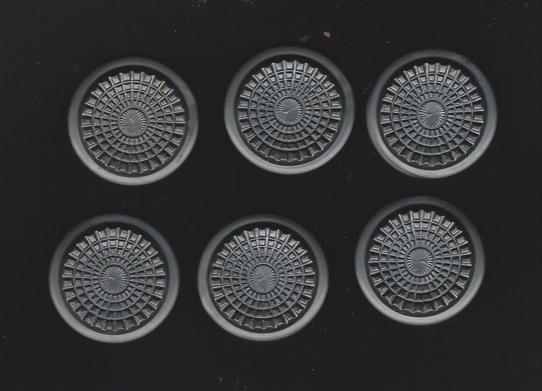 gray shank button