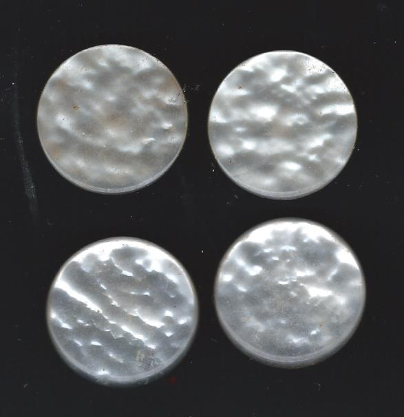 white shank button
