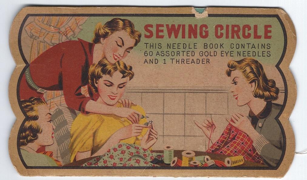 sewing circle needle case