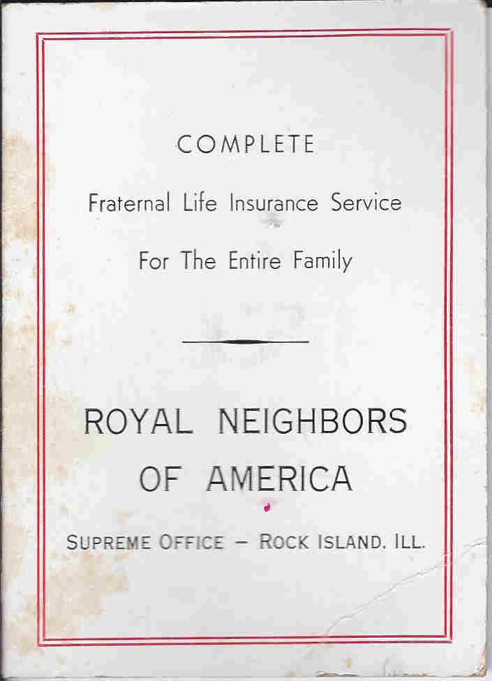 royal neighbor needle case