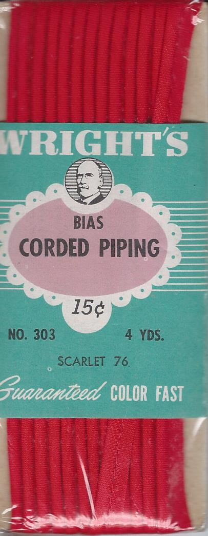 corded piping
