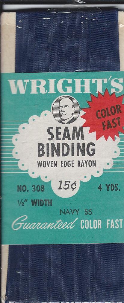 rayon seam tape