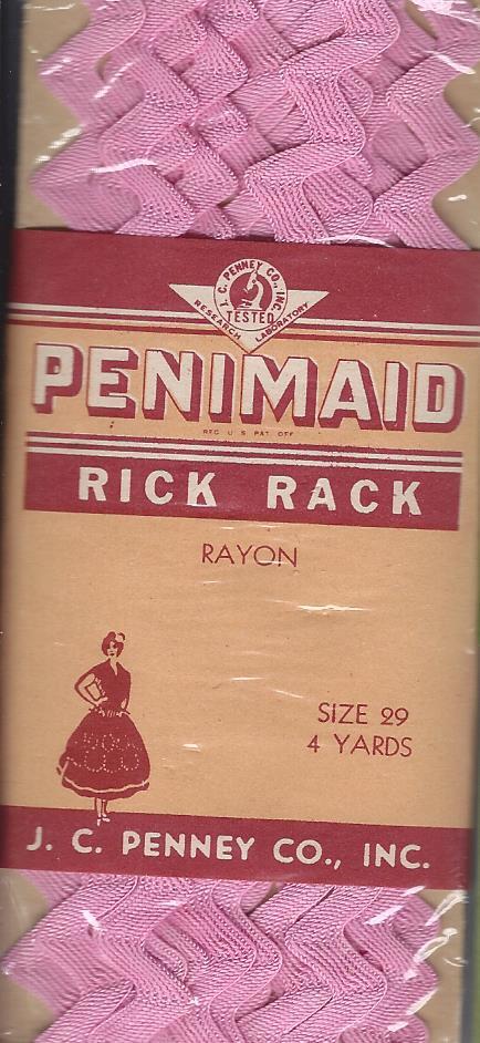 rayon rick rack