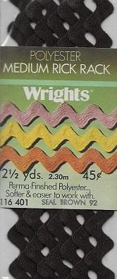polyester rick rack