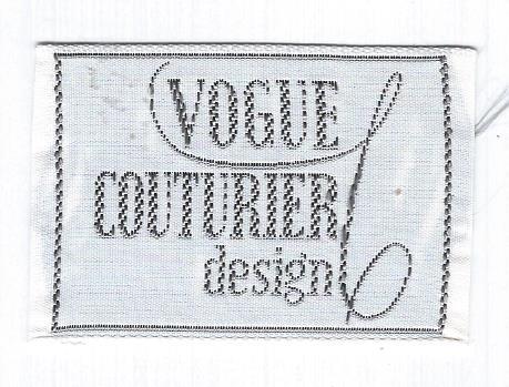 sew-in Vogue label