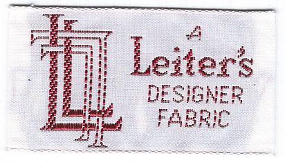 sew-in label