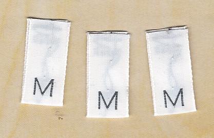 Sew-In Size Label