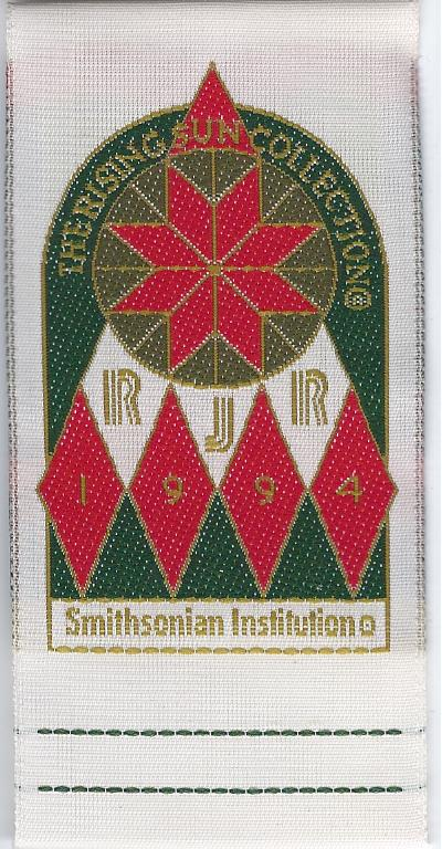 smithsonian sew-in label
