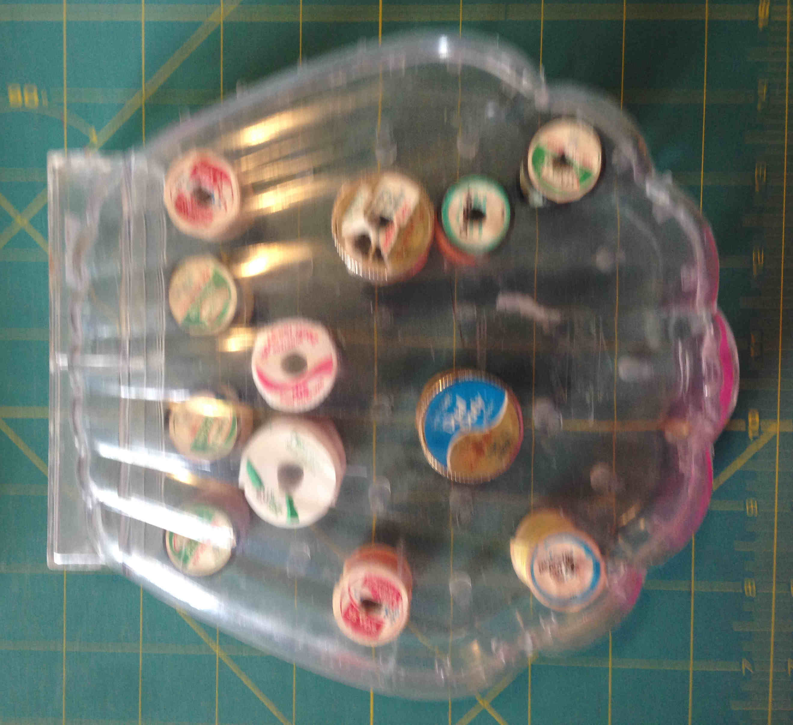 traum shell thread box