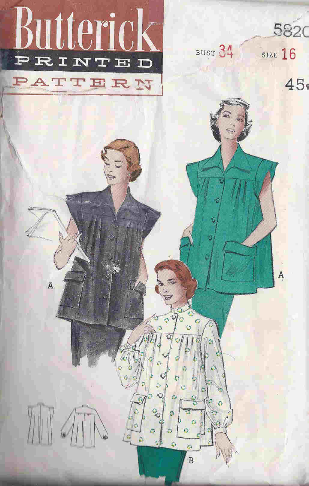 smock sewing pattern