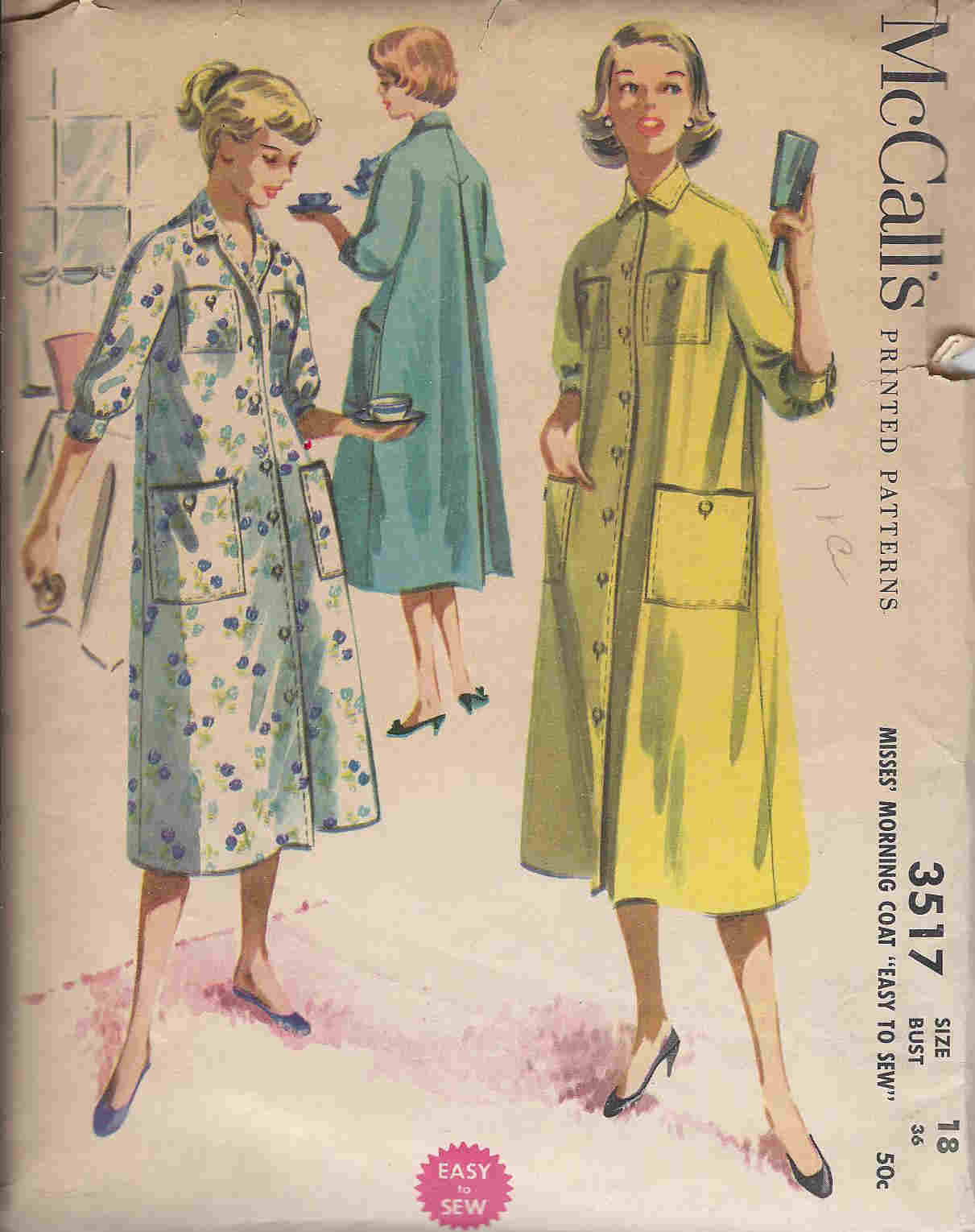 Morning Coat sewing pattern