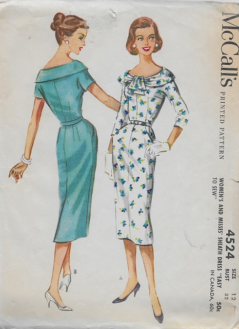 sheath dress sewing pattern