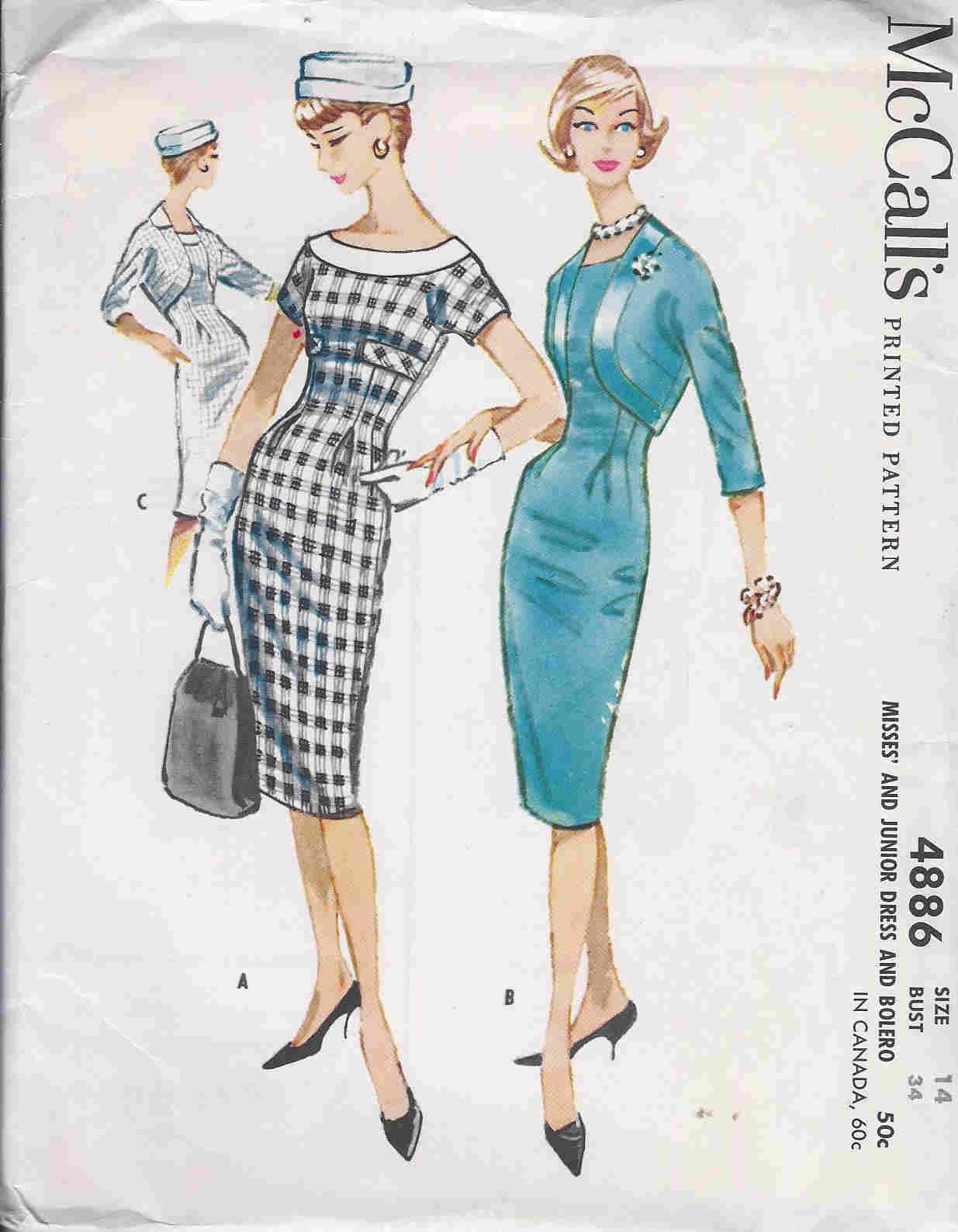 Dress Bolero sewing pattern