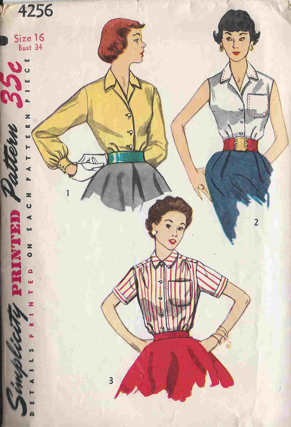 Blouse sewing pattern