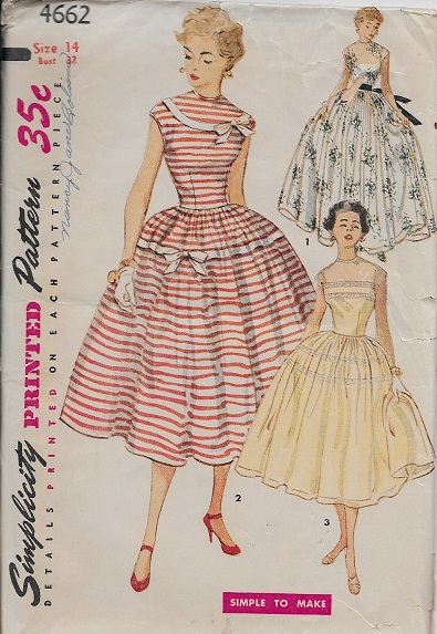 evening dress sewing pattern