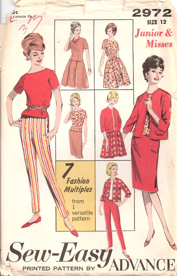 separates sewing pattern