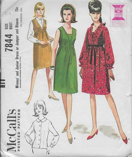dress jumper blouse sewing pattern