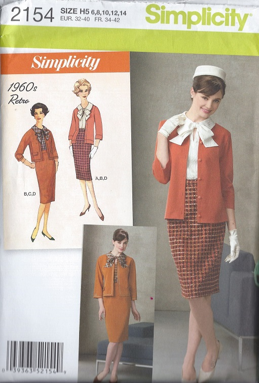 retro blouse skirt jacket cardigan sewing pattern