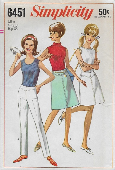 skirt pants sewing pattern