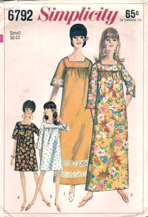 muu muu sewing pattern
