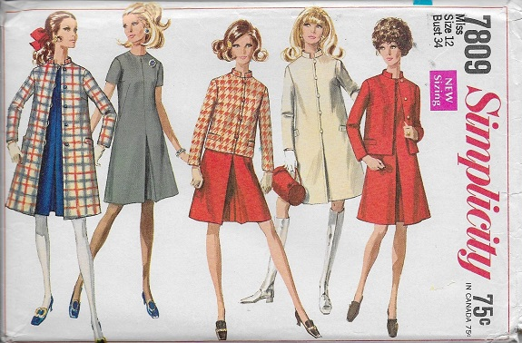 coat jacket dress sewing pattern
