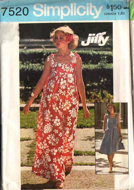 jiffy dress bag sewing pattern
