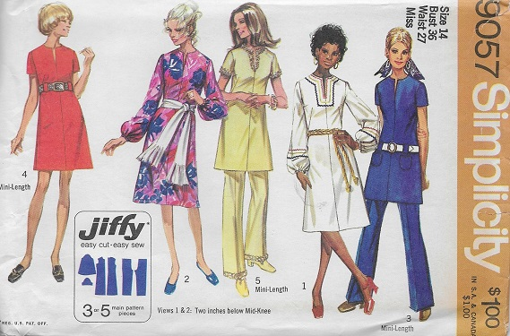 jiffy dress pants sewing pattern