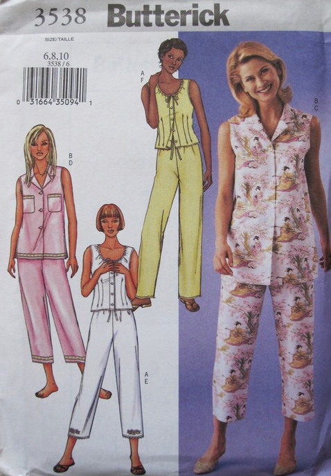top pants sewing pattern