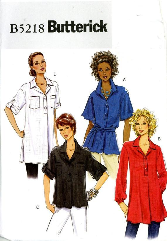 top belt tunic sewing pattern