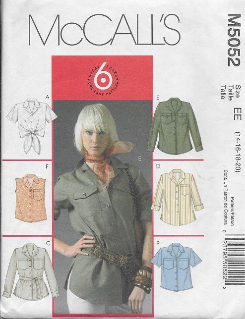 shirt belt sewing pattern