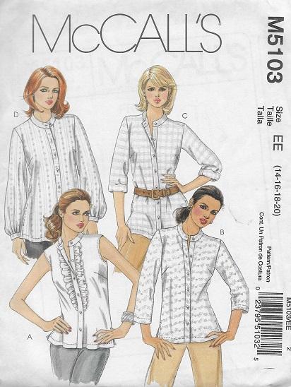 shirt sewing pattern
