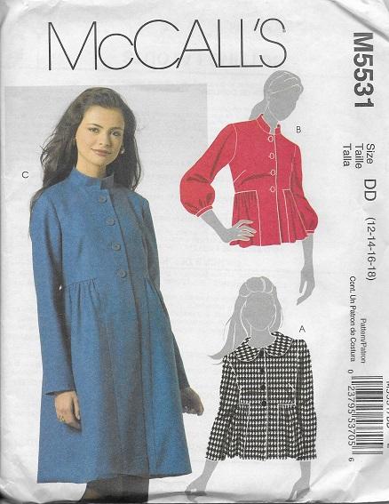 jacket coat sewing pattern