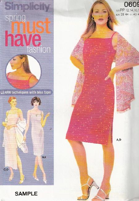 dress shawl purse sewing pattern