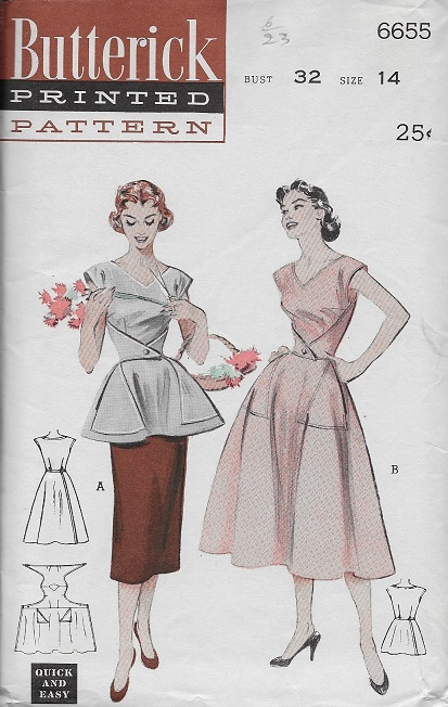 cobbler apron sewing pattern