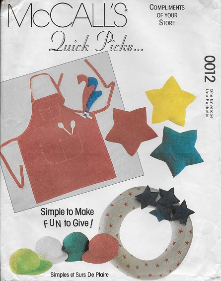 apron oven mitt sewing pattern