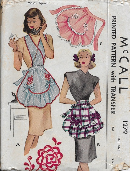 hostess apron sewing pattern