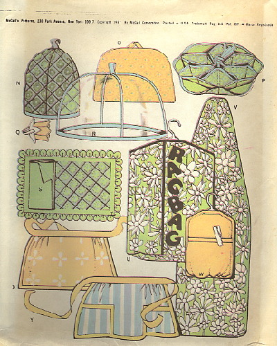 apron potholder cozy appliance covers sewing pattern