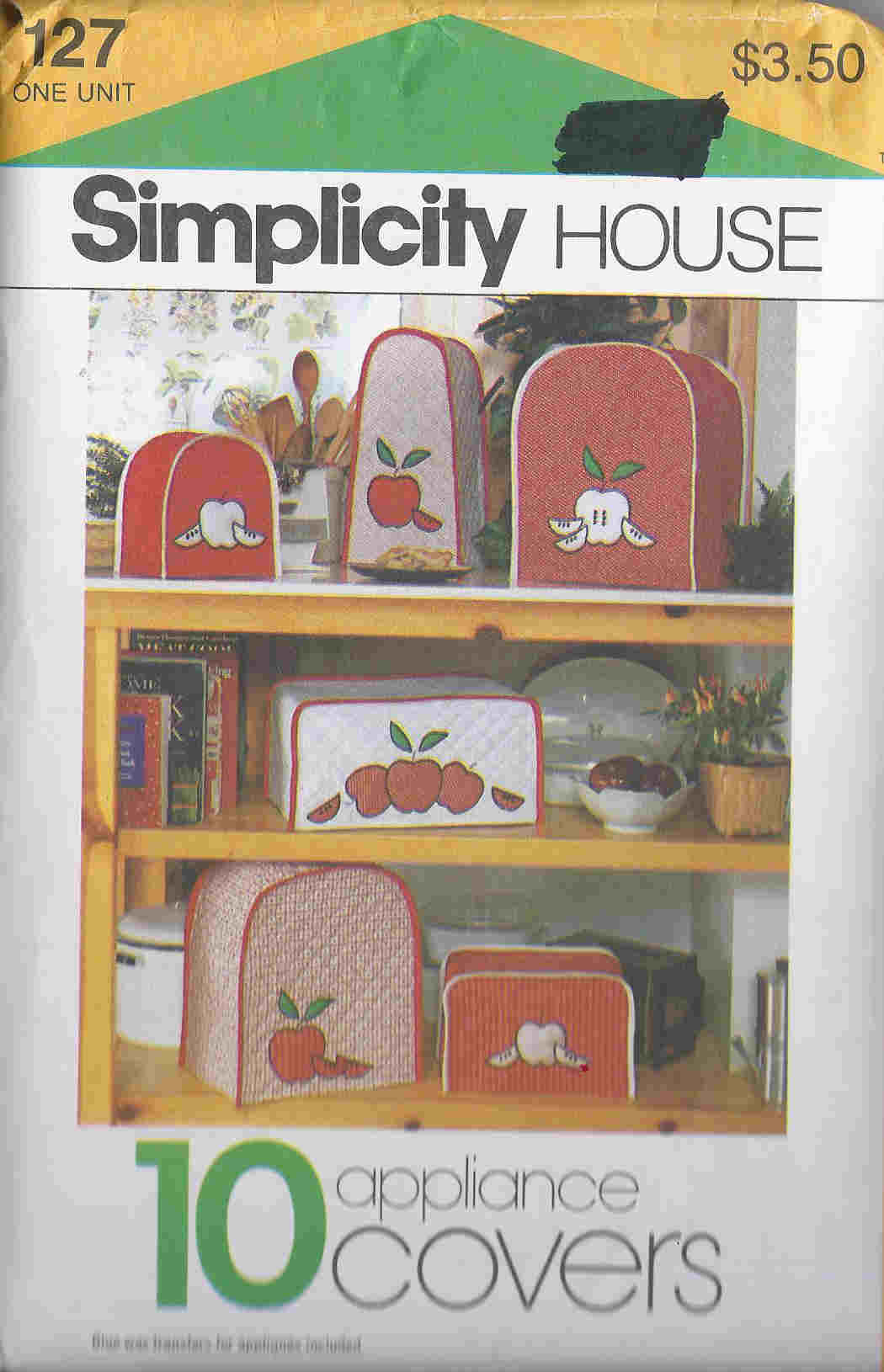 Appliance Covers Sewing Pattern
