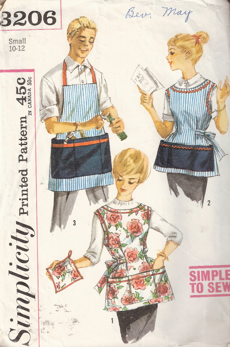 cobbler potholder apron sewing pattern
