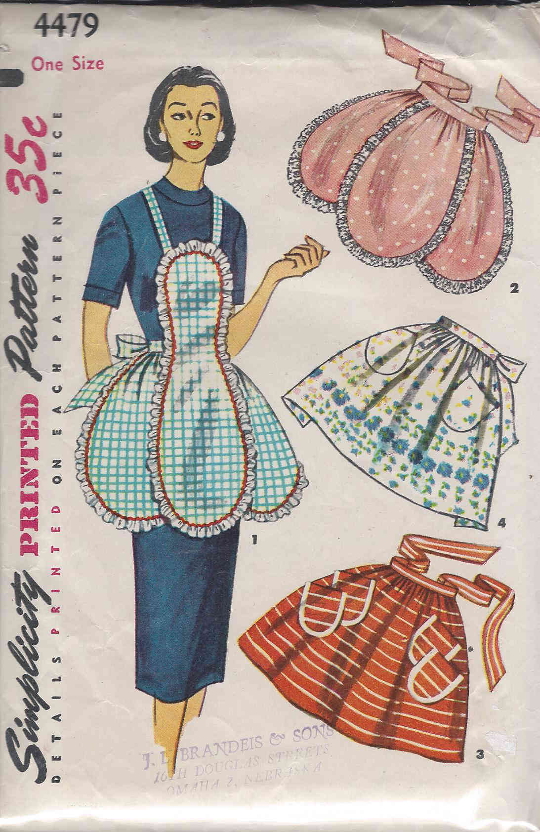 one yard apron sewing pattern